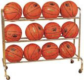 Bison Standard 12 Ball Basketball Carts