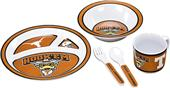 COLLEGIATE Texas Children's Dish Set