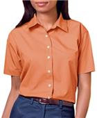 Blue Generation Ladies SS Easy Care Poplin Shirts