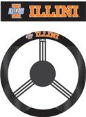 COLLEGIATE Illinois Steering Wheel Cover