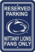 COLLEGIATE Penn State Plastic Parking Sign