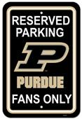 COLLEGIATE Purdue Plastic Parking Sign