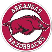 "COLLEGIATE Arkansas 12"" Vinyl Magnet"