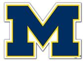 "COLLEGIATE Michigan 12"" Vinyl Magnet"