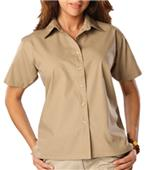 Blue Generation Ladies SS Value Poplin Shirts