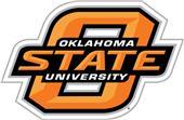 "COLLEGIATE Oklahoma State 12"" Vinyl Magnet"