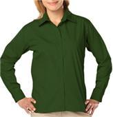 Blue Generation Ladies LS Value Poplin Shirts