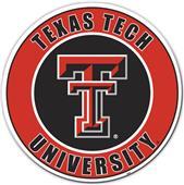 """COLLEGIATE Texas Tech 12"""" Vinyl Magnet"""