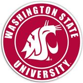 "COLLEGIATE Washington State 12"" Vinyl Magnet"