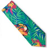 Blue Generation Men's Tucan Tropical Print Ties