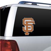 MLB San Francisco Giants Auto Diecut Window Film