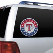MLB Texas Rangers Auto Diecut Window Film