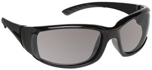1. SHINY BLACK FRAME/GREY LENS
