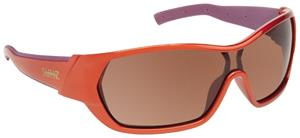 3. ORANGE-PURPLE FRAME/BROWN LENS