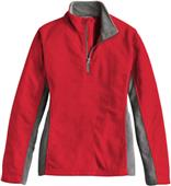 Landway Ladies Klamath Waffle-Knit Fleece Pullover