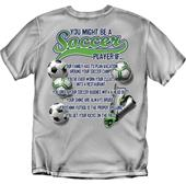 You Might Be a Soccer Player soccer tshirts