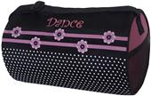 Sassi Designs Dance Flower-N-Dots Roll Duffel Bag