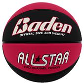Baden All-Star Deluxe Skived Rubber Basketballs