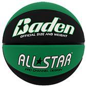 Baden All-Star Deluxe Skived Rubber Basketballs