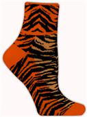 Red Lion Tiger Stripe 1/4 Crew Socks - Closeout