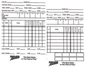 Dalco Football Officials Writable Information Card