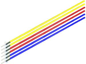 2 BLUE, 2 RED, 2 YELLOW