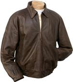 Burk's Bay Distressed Classic Leather Jacket