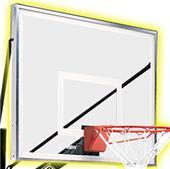 """Championship 48""""x36"""" Acrylic Basketball Backboard"""