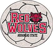 Fan Mats Arkansas State University Soccer Ball Mat