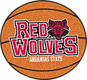 Fan Mats Arkansas State University Basketball Mat