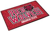 Fan Mats Arkansas State University Starter Mat