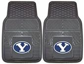 Fan Mats Brigham Young Univ Vinyl Car Mats (set)