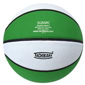 Tachikara Intermediate 2-Color Rubber Basketballs