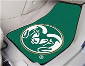 Fan Mats Colorado State Univ Carpet Car Mats (set)