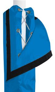 ROYAL BLUE LACE COVER