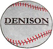 Fan Mats Denison University Baseball Mat