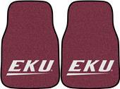 FanMat Eastern Kentucky Univ Carpet Car Mats (set)