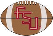 Fan Mats Florida State FSU Logo Football Mat