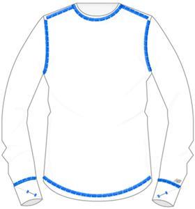 WHITE/GALAXY BLUE