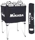 Mikasa Collapsible Classic 24 Ball Volleyball Cart
