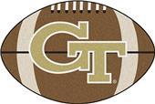 Fan Mats Georgia Tech Football Mat