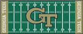 Fan Mats Georgia Tech Football Field Runner