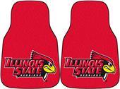 Fan Mats Illinois State Univ Carpet Car Mats (set)