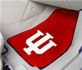 Fan Mats Indiana University Carpet Car Mats (set)