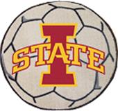 Fan Mats Iowa State University Soccer Ball