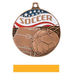 BRONZE MEDAL/YELLOW RIBBON