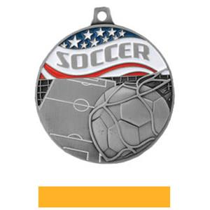SILVER MEDAL/YELLOW RIBBON