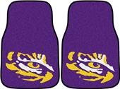 FanMats Louisiana State Univ Carpet Car Mats (set)