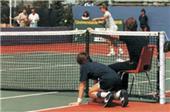 Porter Regulation Outdoor Tennis Posts (Pair)
