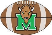 Fan Mats Marshall University Football Mat